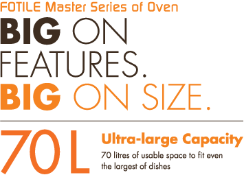 FOTILE Master Series of Oven | Big On Features Big On Size