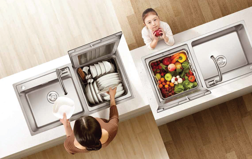 3-in-1 Sink Dishwasher